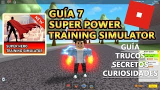 Super Power Training Simulator Nuovo aggiornamento perdite, Roblox inglese Tutorial Tutorial 7