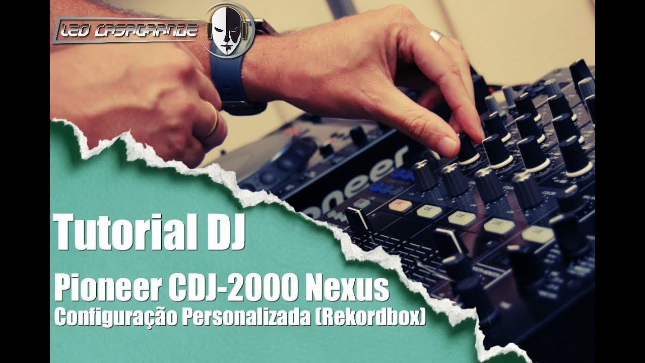Pioneer DJ - Rekordbox - Configuração personalizada/My Settings (Tutorial  PT-BR)