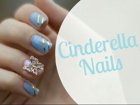 cinderella nails 2015