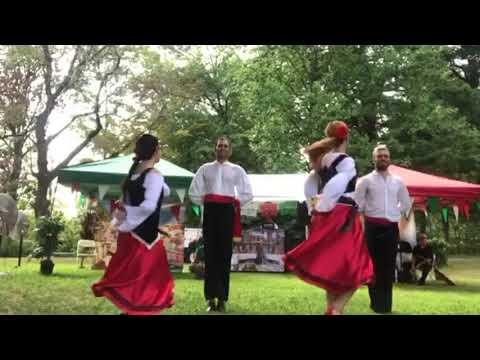 Italian tarantella,italian folk dance
