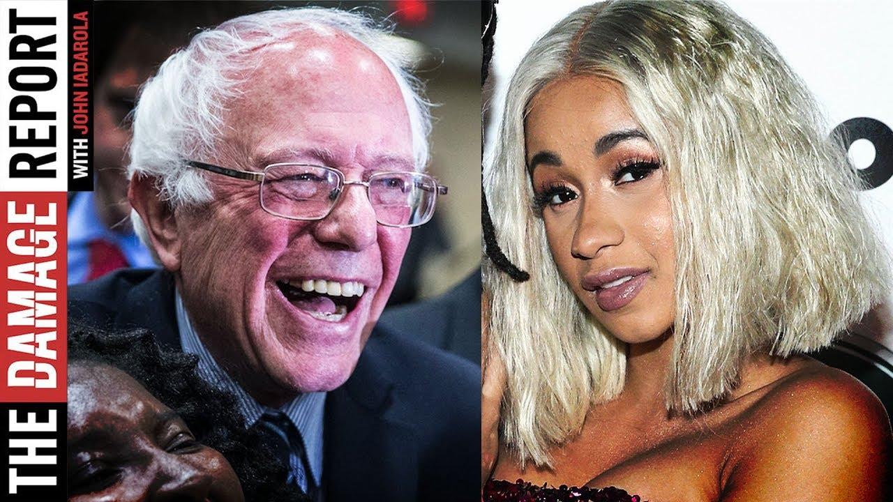 Bernie & Cardi B Talk Inequality