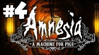 SCARIEST PART! - Amnesia: A Machine for Pigs Gameplay Walkthrough Playthrough - Part 4
