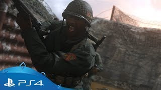 Call of Duty: WWII | PS4 Multiplayer Reveal E3 2017 Trailer | PS4
