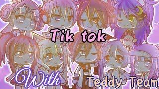#TikTok || Tik tok cùng Teddy Team || Gacha life Vietnam || #2 by Chijou