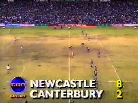 1991 Rd 21 Canterbury Bulldogs v Newcastle Knights
