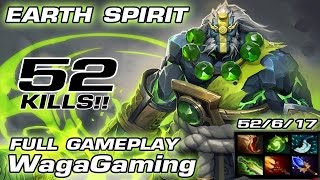 Earth Spirit  WagaGaming QPAD Red Pandas Team [ 52 Kills ] Full Gameplay