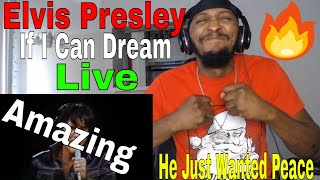 Download This Man Is Amazing | Elvis Presley | If I Can Dream (Live 1968) REACTION