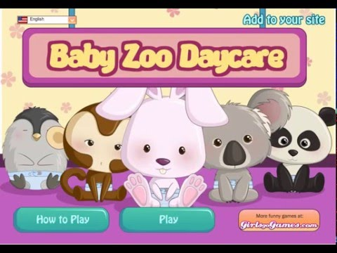 Animal Games Baby Zoo Daycare- Baby Games For Kids