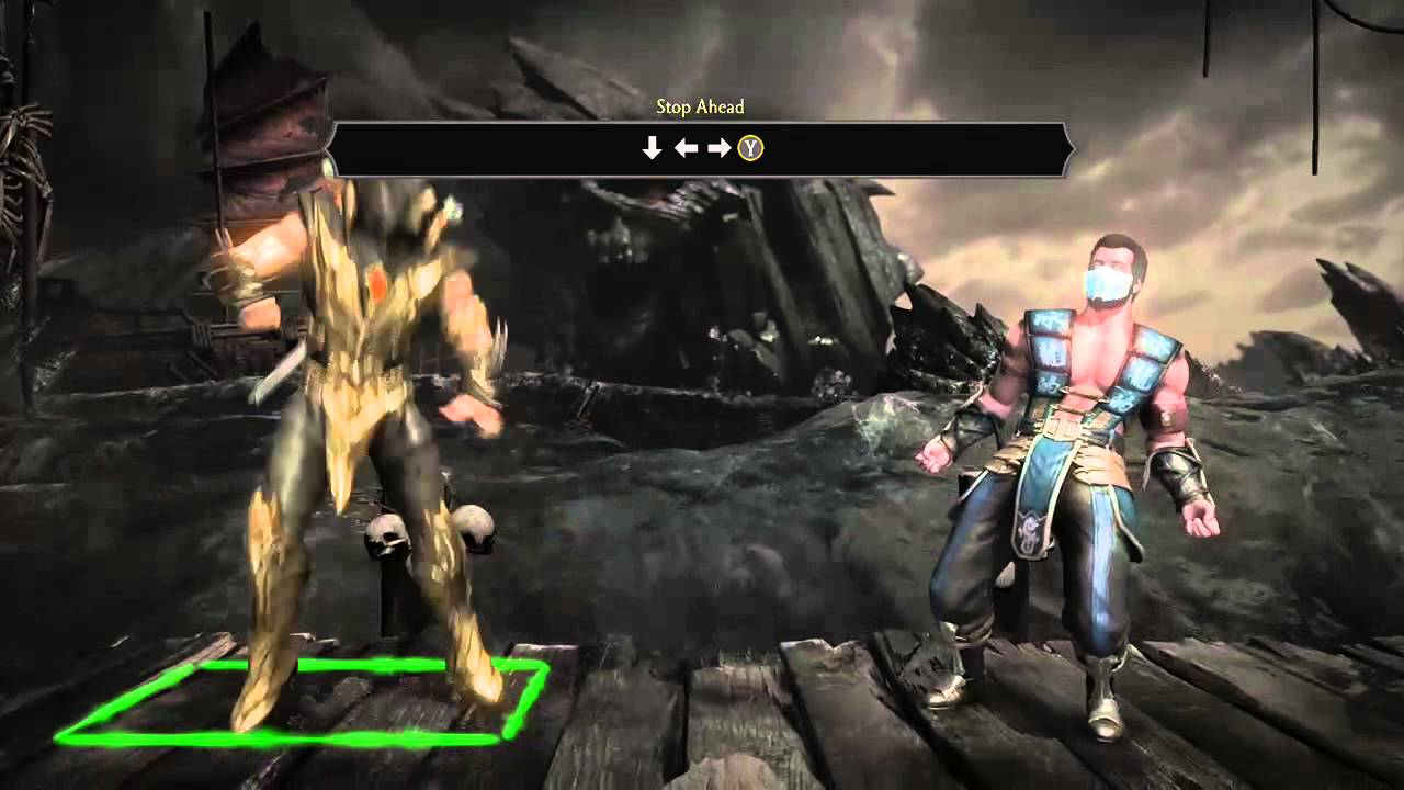 Mkx Scorpion Toasty Fatality Youtube