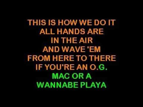 Karaoke - Montell Jordan - This Is How We Do It