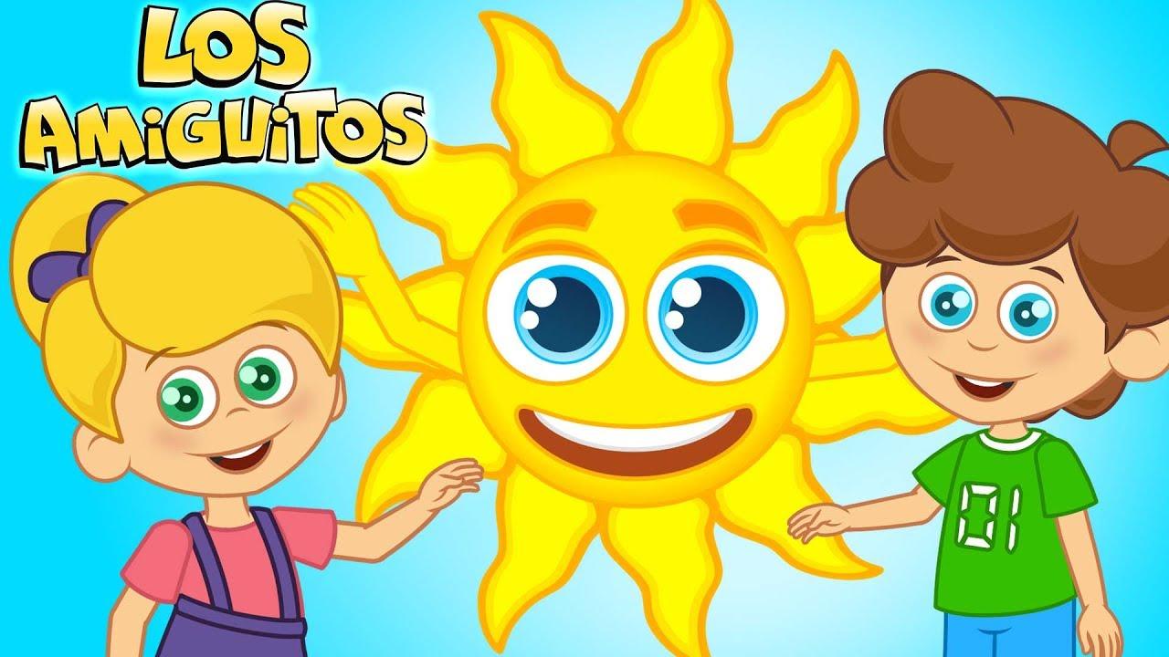 Download Sol Solecito Caliéntame un Poquito | Sol Solecito Luna Lunera Cancion Infantil | Los Amiguitos