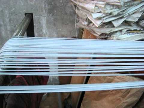 LLDPE film sheet recycle