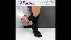 Non-Skid Socks for Seniors, Fall Prevention, Diabetes, Edema, Swollen Feet