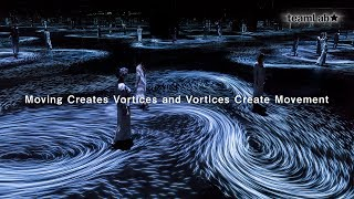 Moving Creates Vortices and Vortices Create Movement