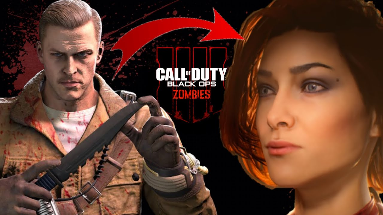 How To Choose Your Character In Zombies Call Of Duty Black Ops