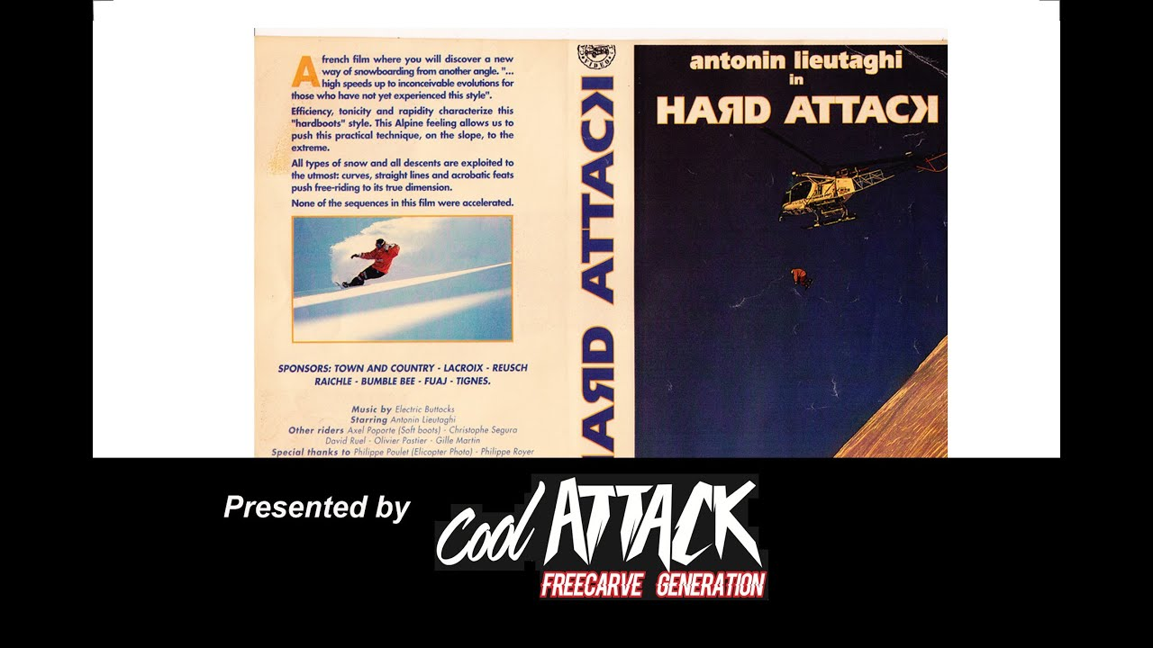 HARD ATTACK: Mythical alpine snowboard freestyle movie