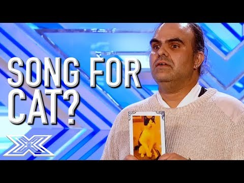 HILARIOUS Audition Dedicated To Cat! | X Factor Global