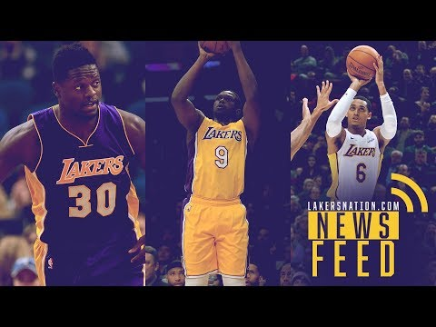 Lakers Feed: Luol Deng Might Be Stuck In L.A., Jordan Clarkson Trade Rumors Update