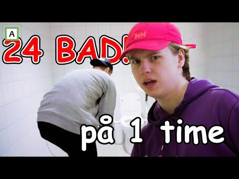 24 bad på 1 time! Med Murdrocks