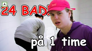 24 bad på 1 time! Med Murdrocks