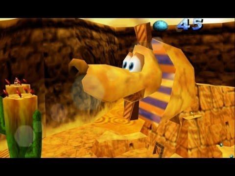 Banjo-Kazooie (Xbox Live Arcade) 100% Walkthrough Part 6 - Gobi's Valley