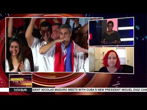 Mirta Moragas Reacts to the Paraguayan Elections - FTS