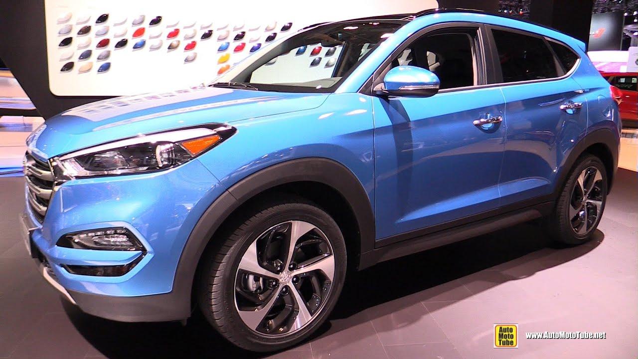 Amazing 2016 Hyundai Tucson Limited 16T AWD  Exterior Interior