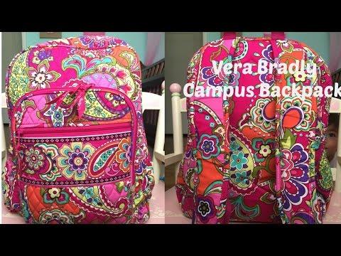 Vera Bradley Campus backpack review