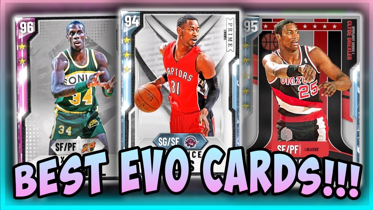 nba2k20  best evo cards you need to buy and evolve