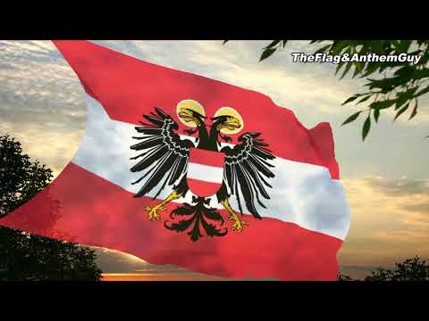 Flag and anthem of the Federal State of Austria (1934-1938)