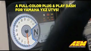 homepage tile video photo for A Full Color Plug & Play Dash for Yamaha YXZ!