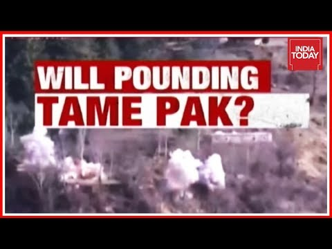 India Demolishes Pak Posts Along LoC ; Will Pounding Tame Pak ? | India First