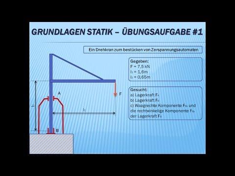 Statik fitweb for Statik auflager berechnen