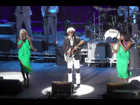 Nile Rodgers & CHIC live in Dublin @ 3Arena in 4K UHD