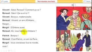 تعلم اللغة الفرنسية المحادثة 2