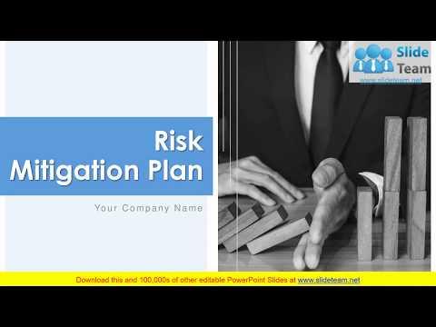 Risk Mitigation Plan PowerPoint Presentation Slide - YouTube