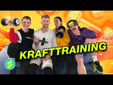Die Sportmacher Challenge #25 – Krafttraining   ZDFtivi