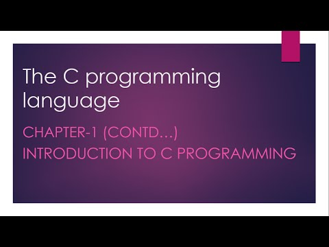 C Programming tutorial #3 thumbnail