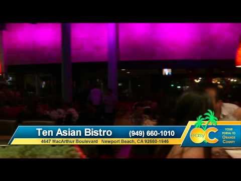 Best Restaurants In Orange County | Ten Asian Bistro