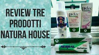 Tre prodotti WOW Natura House