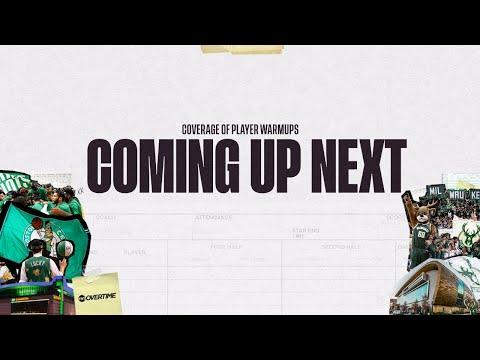 LIVE Pregame Coverage   Boston Celtics Vs. Milwaukee Bucks