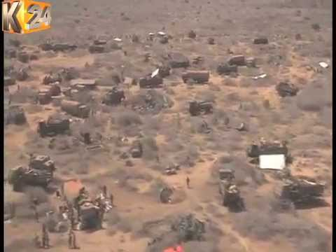 KDF Carries Out Large Airstrikes On Al-Shabaab Bases
