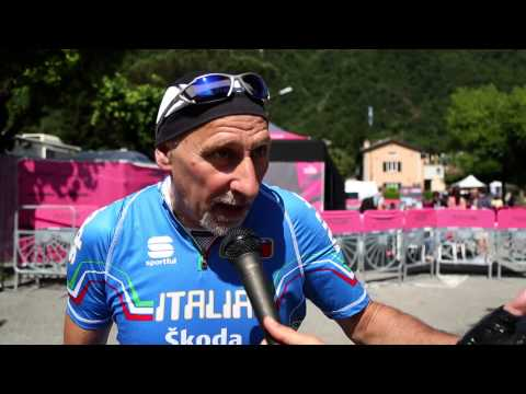 Melide saluta il Giro d'Italia