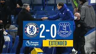 EXTENDED HIGHLIGHTS: CHELSEA 2-0 EVERTON