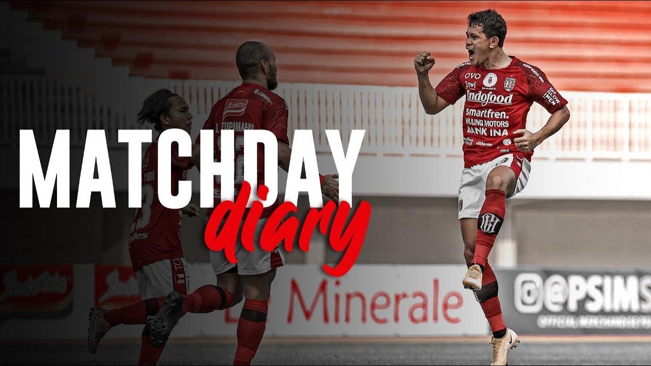 Bali United vs PSIM Yogyakarta | Tour De Java | Matchday Diary