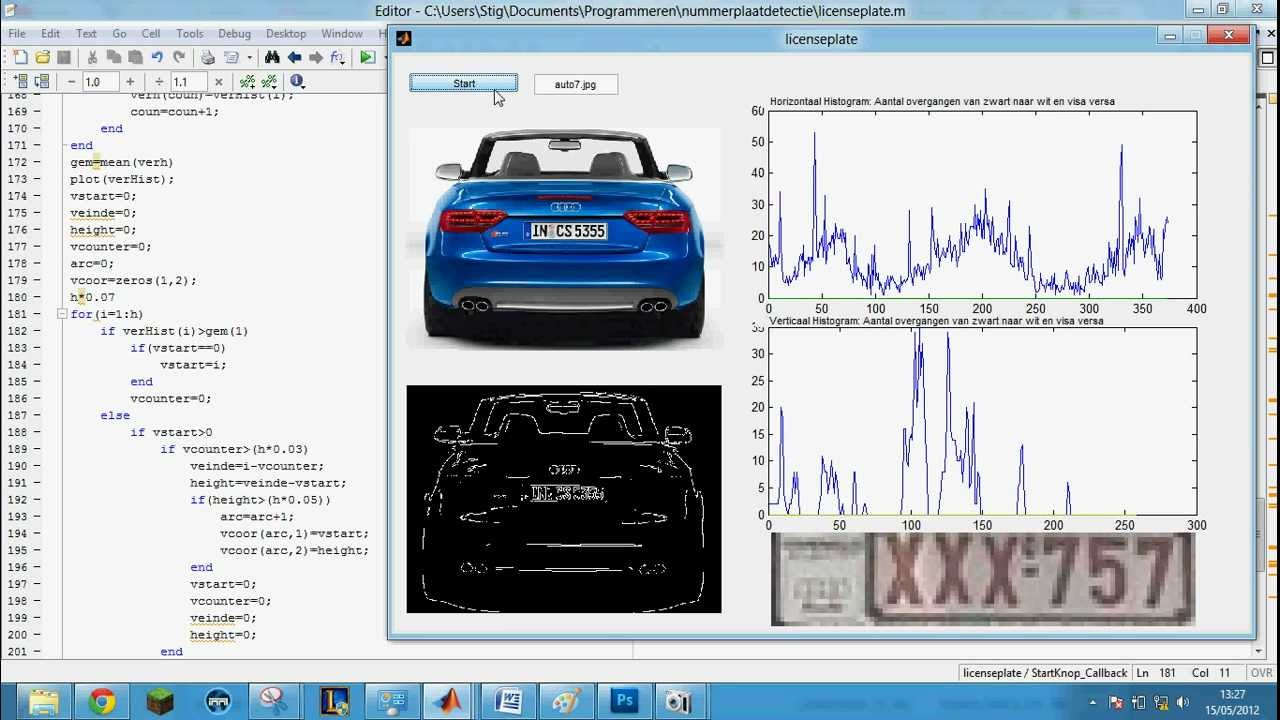 Matlab Automated License Plate Recognition System - Demo part 1 ...