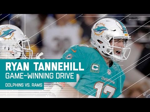 Ryan Tannehill Leads Dolphins on Game-Winning Drive! | Dolphins vs. Rams | NFL
