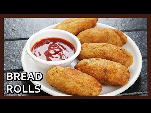 NO Fry Bread Rolls Recipe | Bread Potato Rolls | Stuffed Bread Rolls | Airfryer Recipe