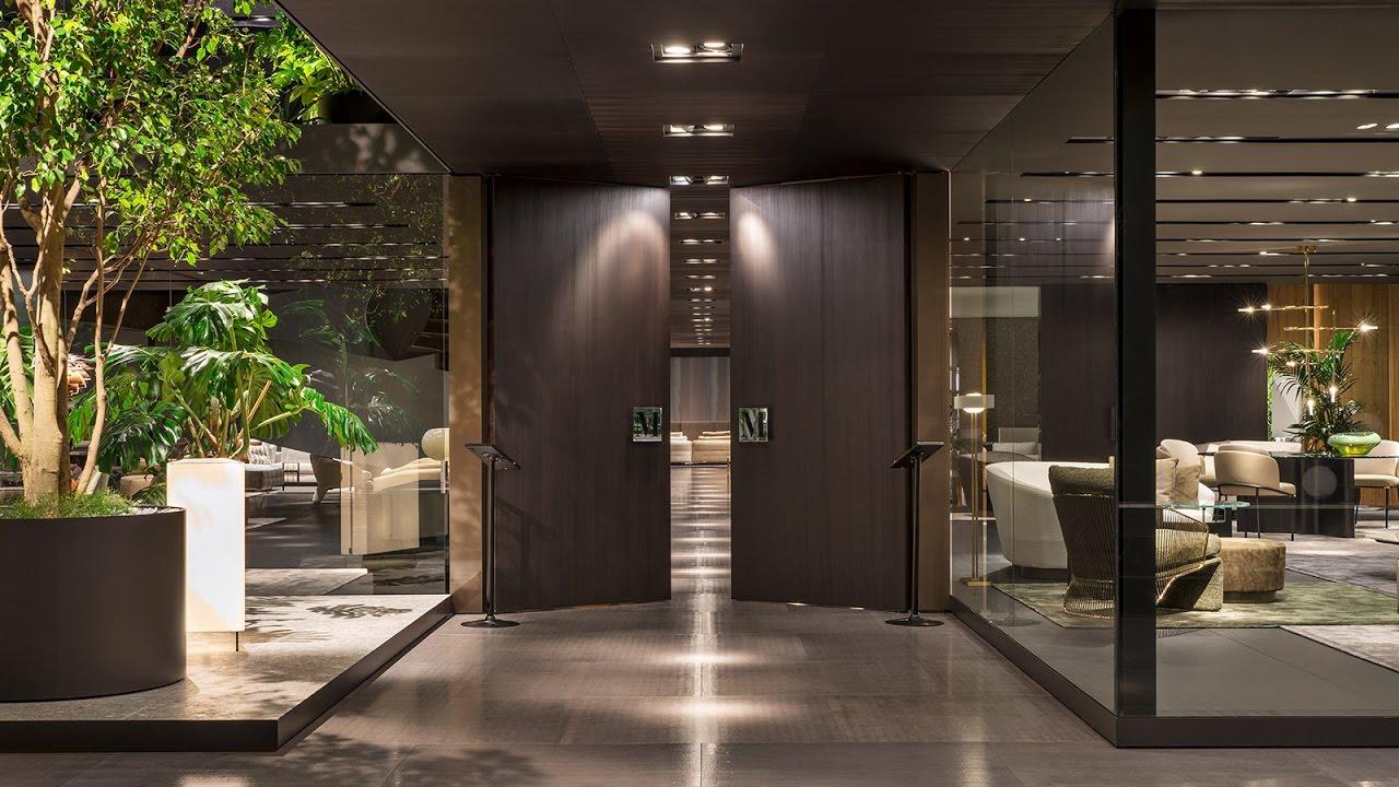 xtra minotti salone del mobile milan 2017 youtube. Black Bedroom Furniture Sets. Home Design Ideas