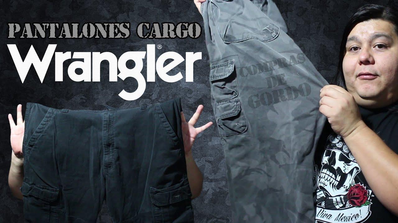 Pantalones Cargo Wrangler Compras De Gordo Youtube